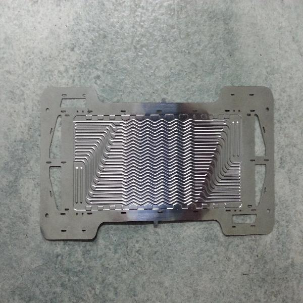 Metal Bipolar Plate For Fuel Cell By Hydroforming