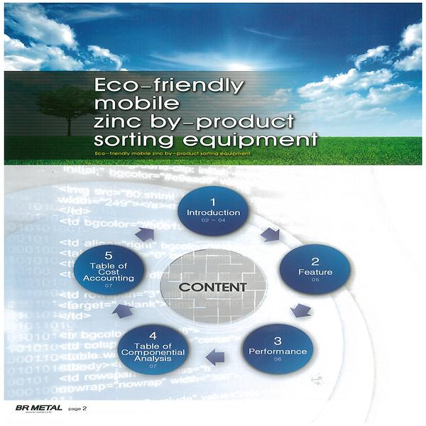 Eco Friendl zinc by produ
