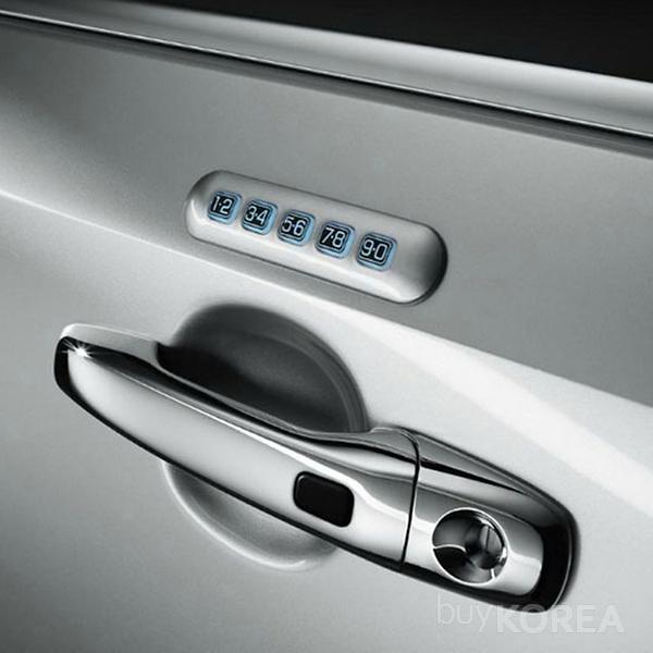Keyless Entry Keypad For Vehicle Digital Door Lock Bisrod