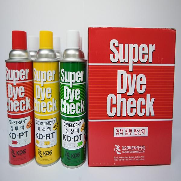 Super Dye Check kit