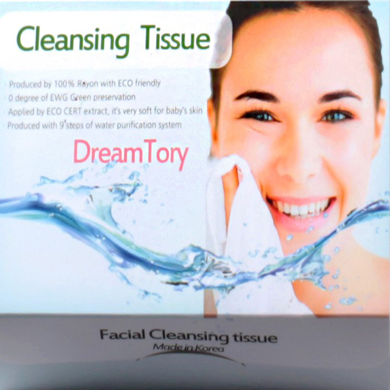 Cleansing wet tissue
