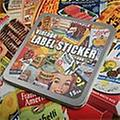 vintage food sticker