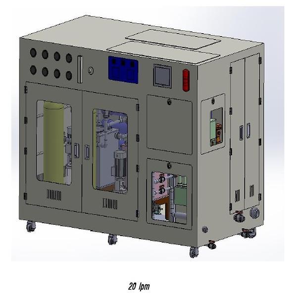 ionized water machine