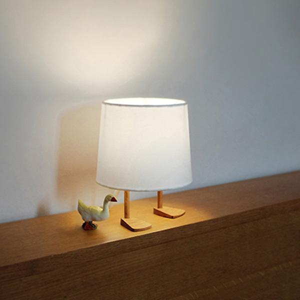 Table lamp duck leg drising mrduck table lamp mrduck table lamp aloadofball Image collections