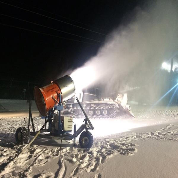 snow making machine for