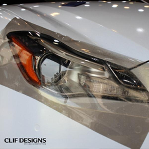 Clif Designs Taillight Tint Scratch Proof Tpu Car Headlight