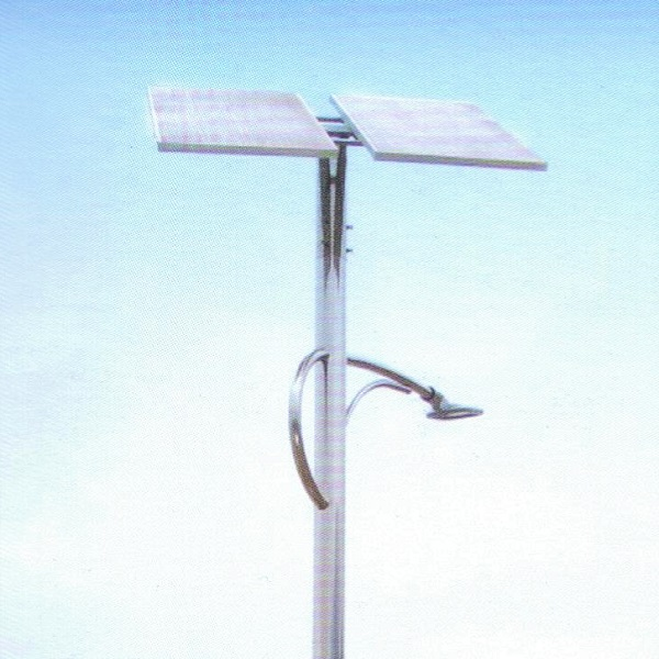 Solar-powered LED