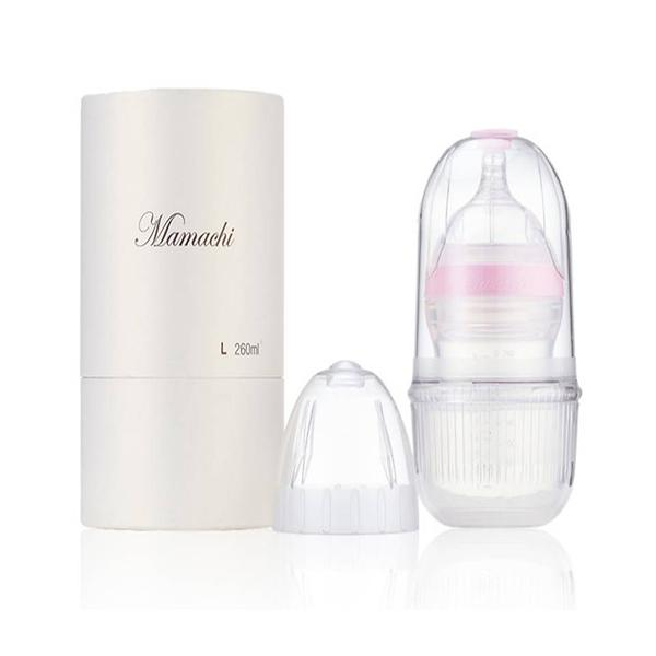 100% silicon baby bottle