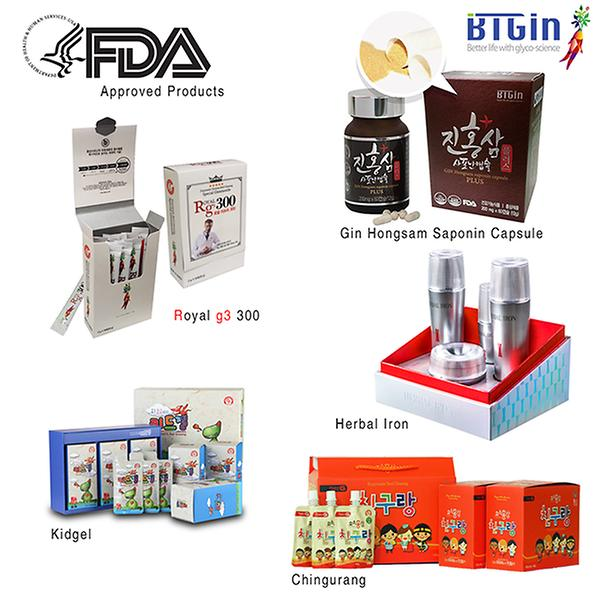 FDA approved products
