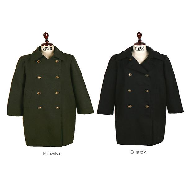 Wool Polyester Coat