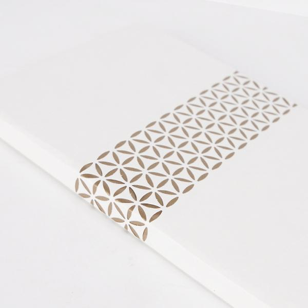 White&Gold Notebook