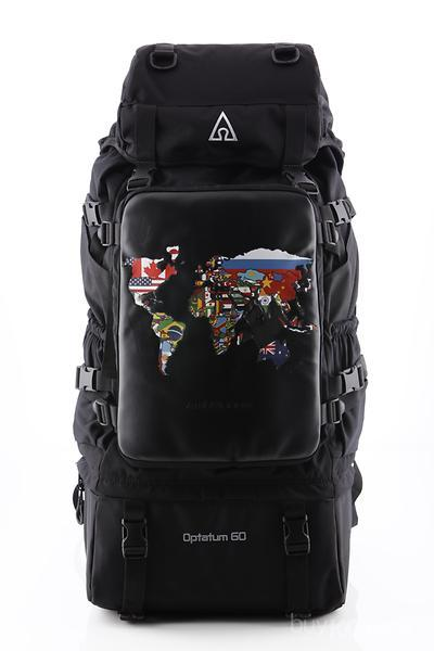 Travel outdoor world map backpack ambitionem amnbitionem world map bagflag gumiabroncs