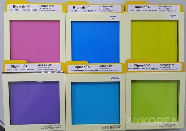 Nano Color Laminated Glas