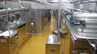 Poly Urethane Resin Mortar, GMP, Clean room, parking lot, food factory
