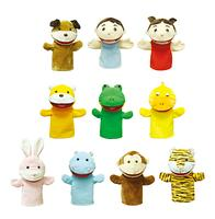 Tongtongi Hand Puppets Animal and Friends Group