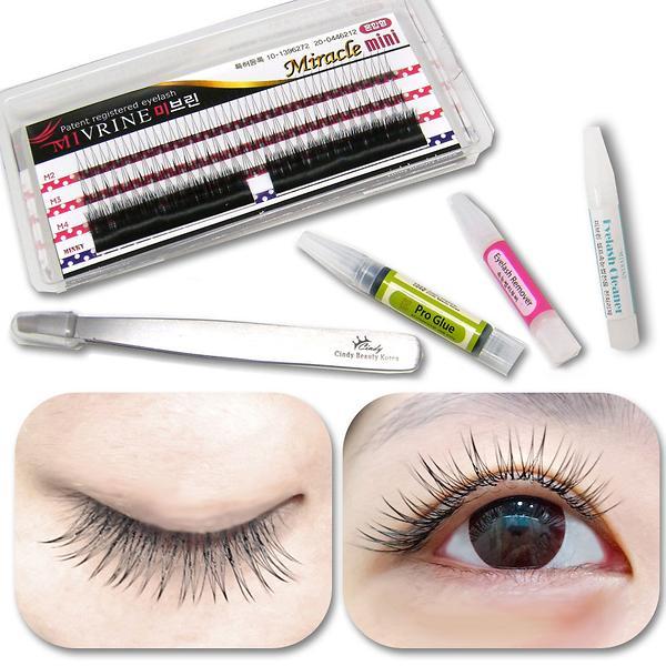 Fake Eyelashes False Eyelashes Eyelash Extension Mivrine Mini Kit