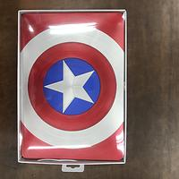 captain america case red
