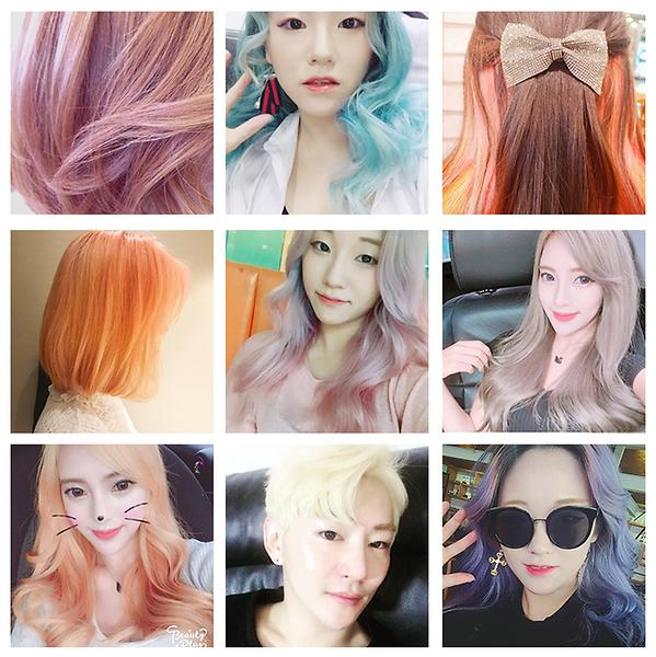 korea self hair color treatment dye hair pack without damage ...