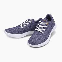 Merino wool Shoes in everyday life Walking and Running Sneakers navy