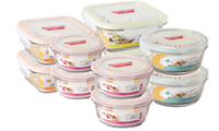 RAINBOW AIR Tighten Glass Food Container