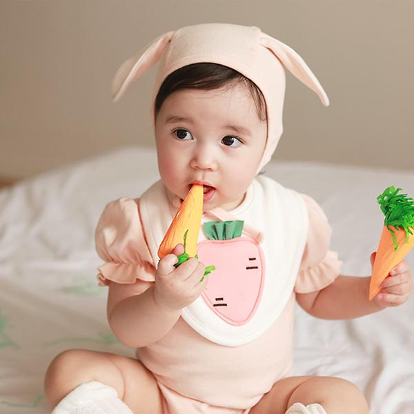 carrot bodysuit set