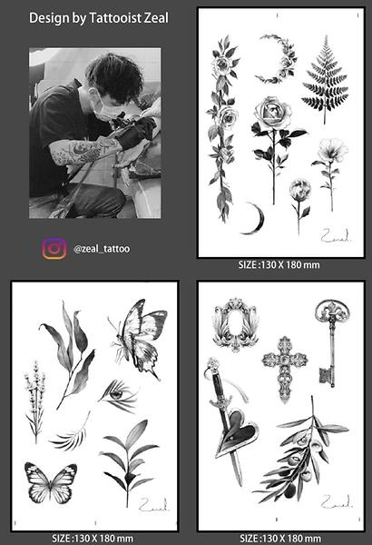 ZEAL temporary tattoos
