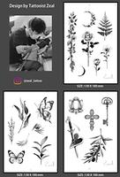 Korean Tattooist ZEAL temporary tattoo