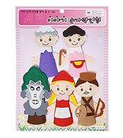 Felt  Finger Puppets- Fairy Tale-Childrens Classic story