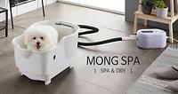 plastic, mong spa, spa, a spa for pet, baths, shower, gray, ivory, ceramic