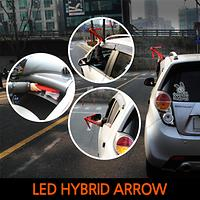 LED HYBRID ARROW traffic safety bar Magnetic-type breakdown or emergency
