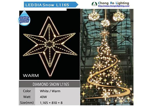 LED DIA Snow L1165