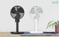 Battery Operated Wireless Stand Fan Small Portable Wind Speed Adjustable