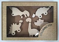 wood   coloring toy  educationl tools  vehicle dinosaur