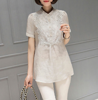 Lapin embroidery blouse